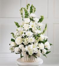 Eternal Light Basket Arrangement