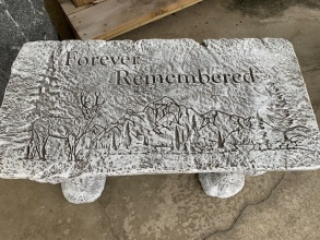 """Forever Remembered\"" Bench"