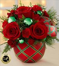 Season\'s Greetings Bouquet-Green