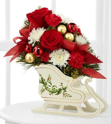 Holiday Traditions Bouquet-Ceramic