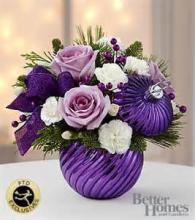 FTD Holiday Delights Bouquet-Purple