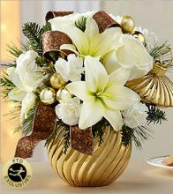 Happiest Holiday Bouquet-Gold