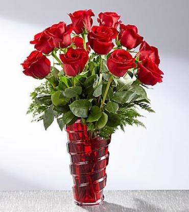 The FTD In Love with Roses Bouquet