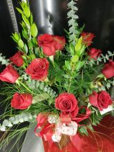 The Sweetheart Sparkling Rose Bouquet