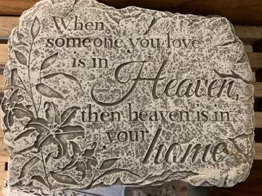 Someone You Love in Heaven Stone (Small)