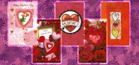 (1 ea) Full Size Valentine Card