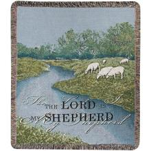 The Lord Is My Shephard Throw