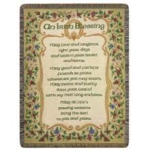 Peace and Plenty (An Irish Blessing) Throw