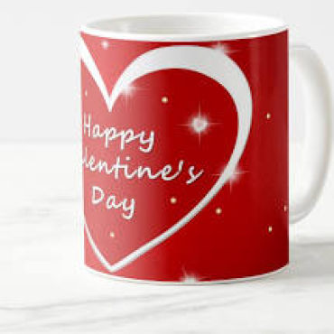 Happy Valentine\'s Day Mug Bouquet