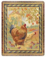 Les Poulets Throw