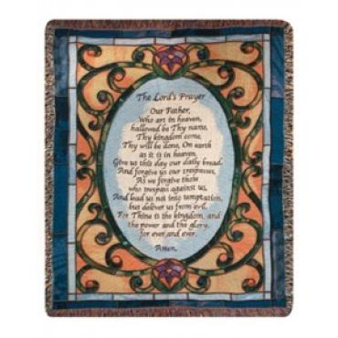 The Lord\'s Prayer Throw